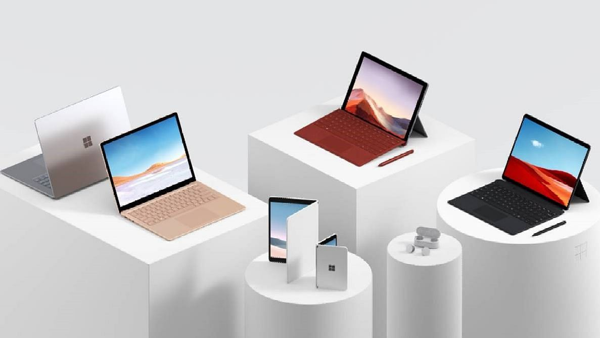 Microsoft Goes Foldable With New Surface Devices, Launches Earbuds