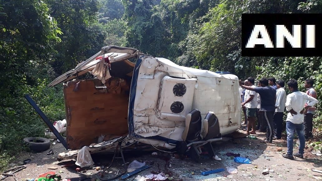 Eight Dead After Tourist Bus Falls Into Valley in Andhra Pradesh