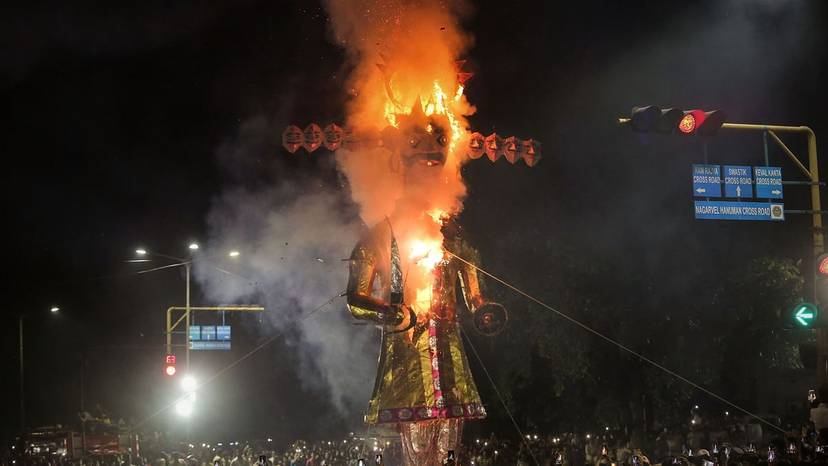 Dussehra Celebrated With Fervour Across the Nation