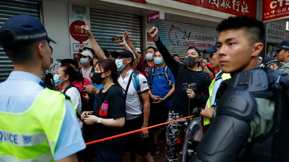 Thousands March in Hong Kong on Communist Party Anniversary