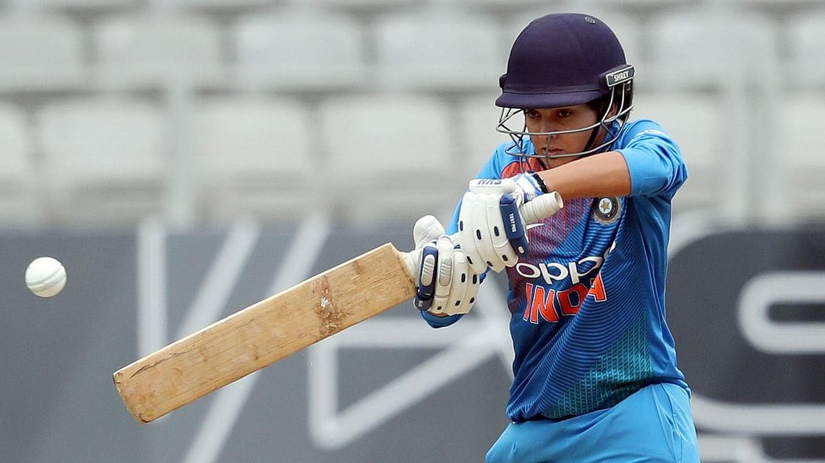 Priya Puni got the chance to play her maiden ODI after star opener Mandhana was ruled out due to injury.