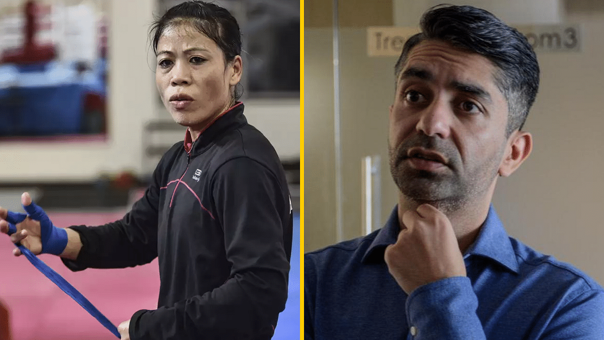 Boxing is Not Abhinav Bindra's Business to Interfere: Mary Kom