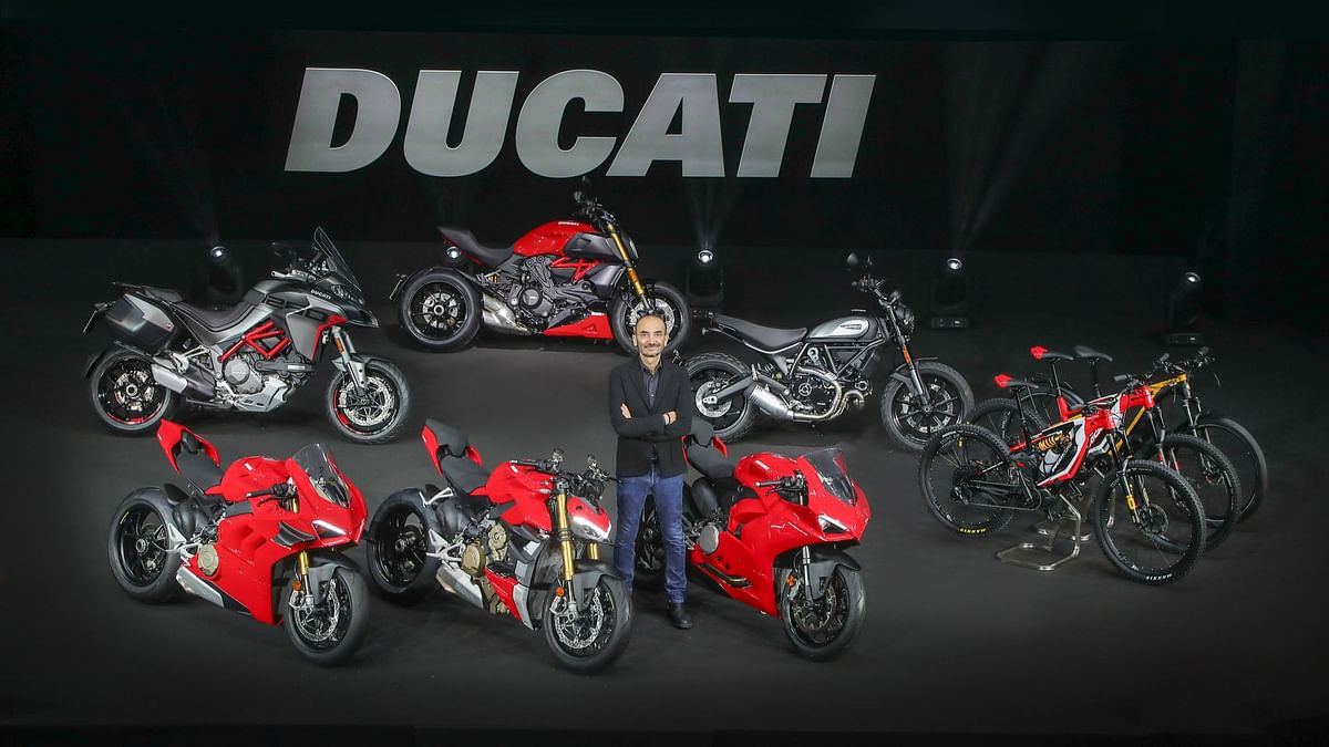 The new Ducati 2020 lineup unveiled, includes electric bicycles as well.