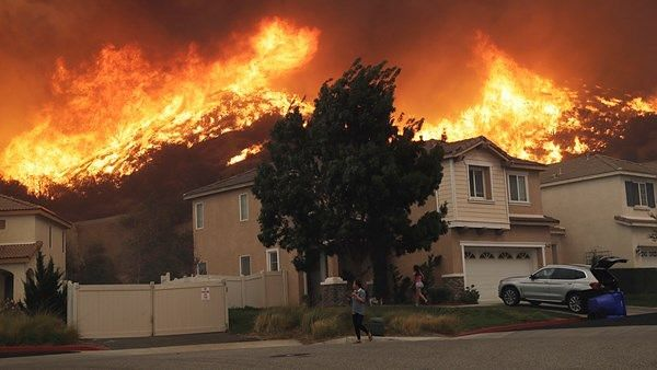Celebs' Homes Gutted in LA Wildfire, Terminator Premiere Cancelled