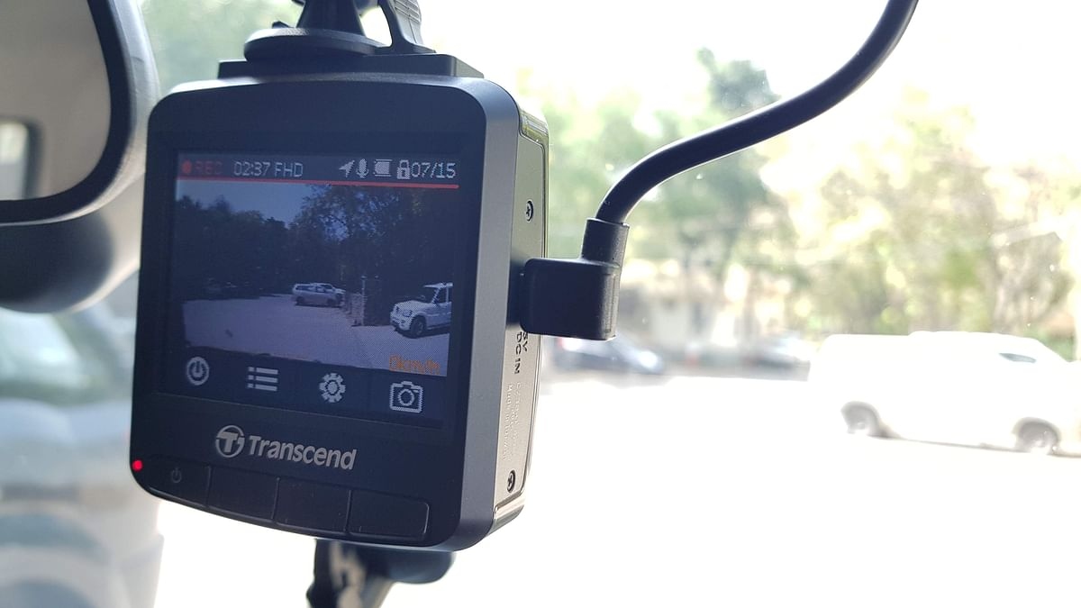 High-end dashcams come with in-built GPS systems to track your speed.