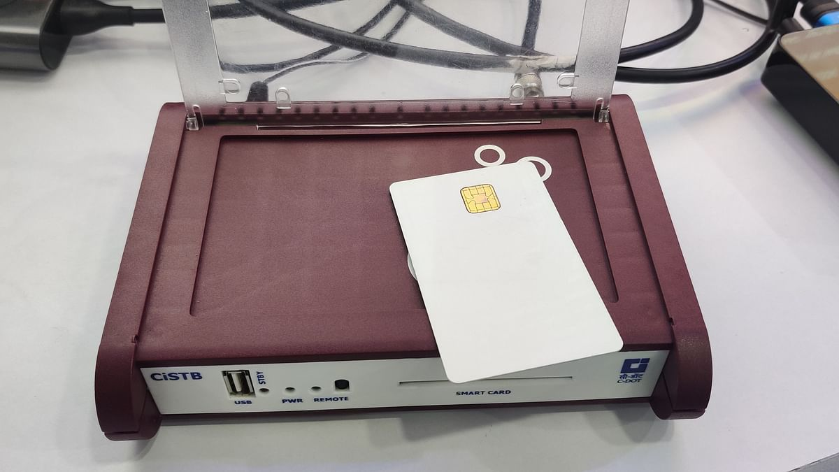This device could soon become standard equipment for DTH users in India.
