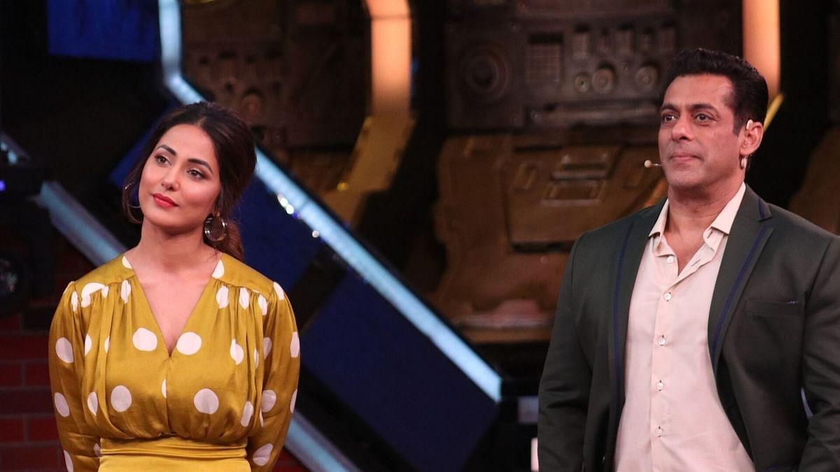 Hina Khan makes a guest appearance on <i>Bigg Boss 13: Weekend Ka Vaar.</i>