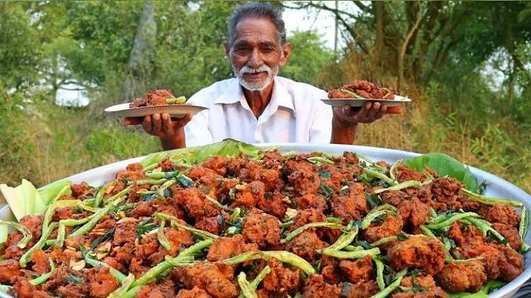 Narayana Reddy from Telangana became extremely popular with this cooking channel 'Grandpa Kitchen' on YouTube.