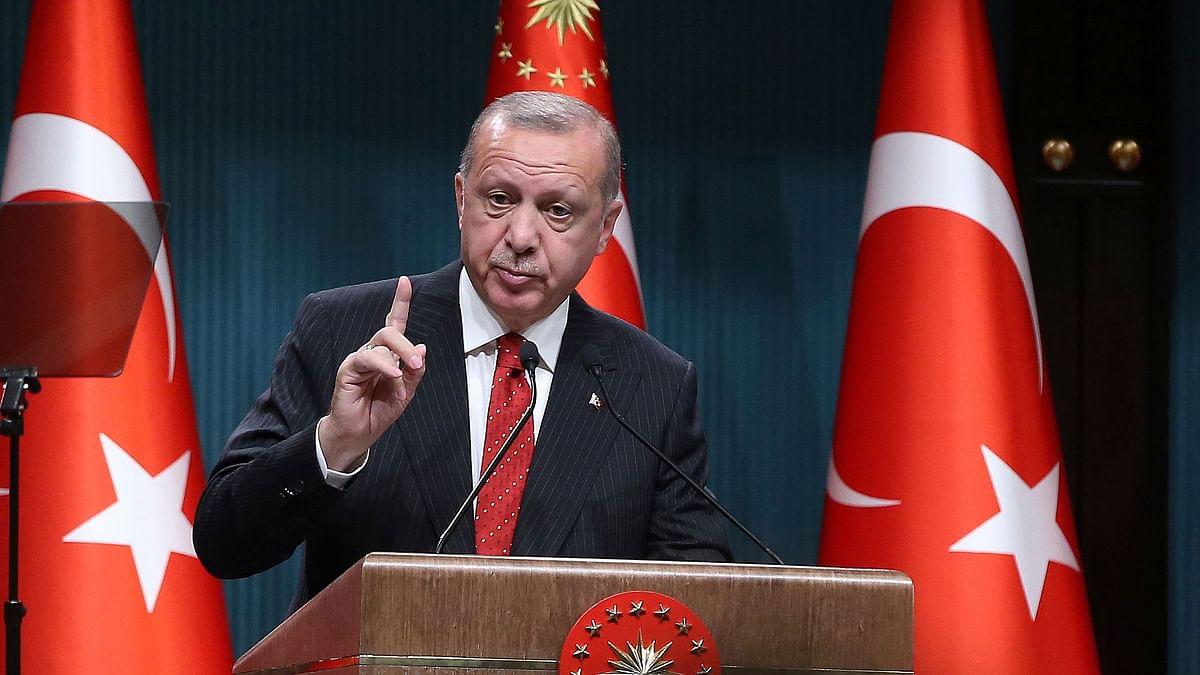 File image of Turkish President Recep Tayyip Erdogan.