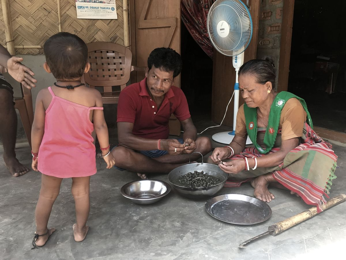 Rosen Hajong and his family are out of the Assam NRC.