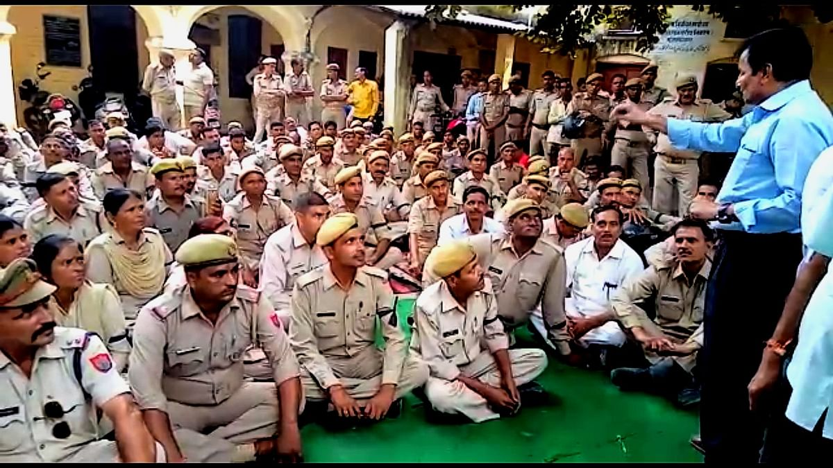 UP Home Guards Beg For Govt Exchequer After Reports of  Sacking