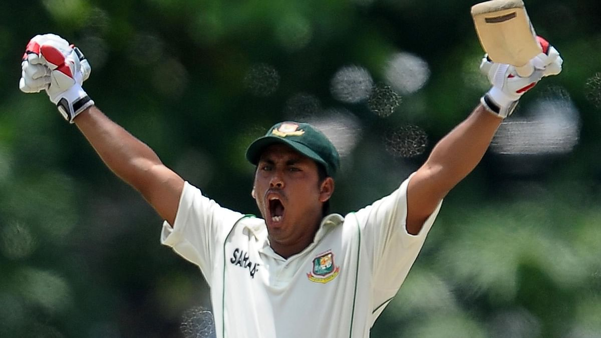 Ashraful served a 5 year ban for involvement in spot fixing.