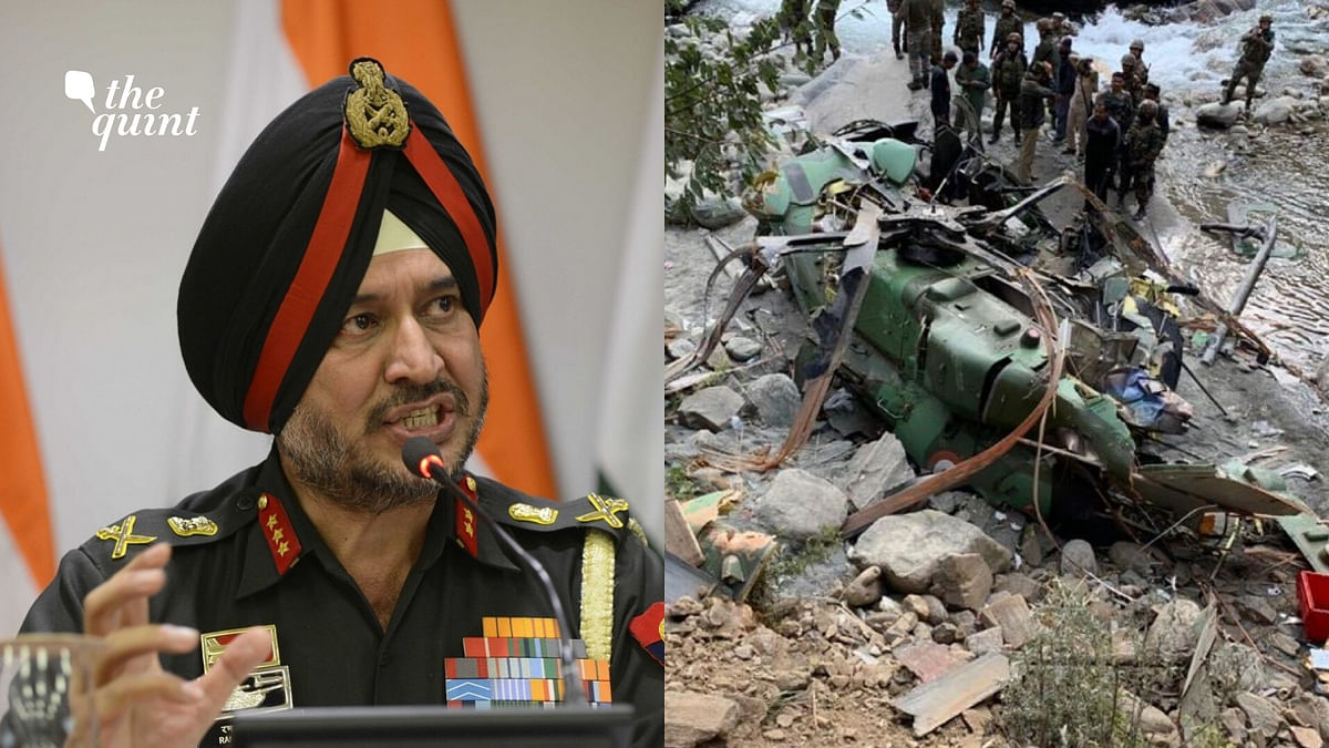 Army's Northern Command Chief Unhurt After Chopper Crashes in J&K