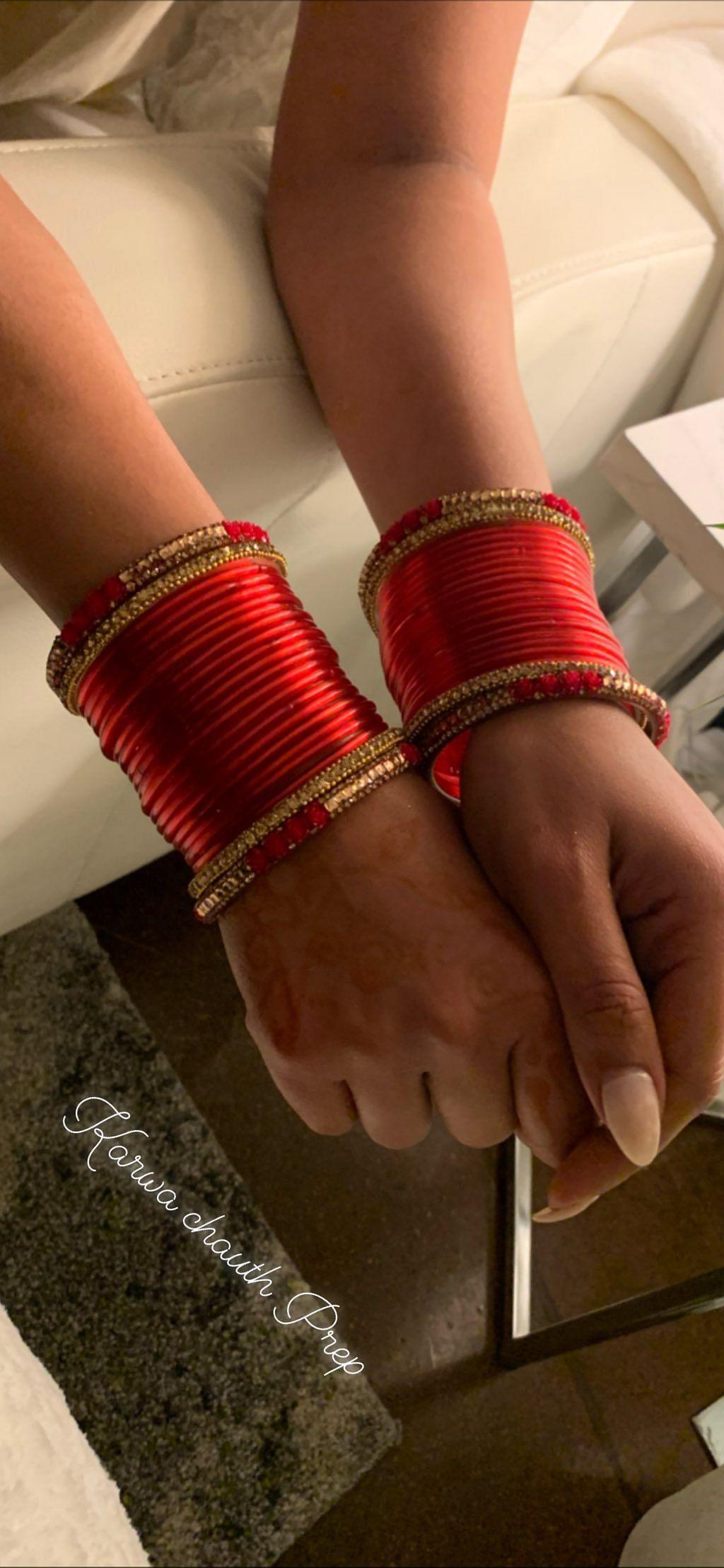 Priyanka Chopra prepares for Karva Chauth.