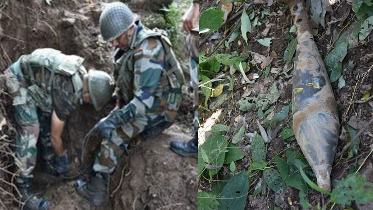 Indian Army Destroys Mortar Shells After Pak Violates Ceasefire