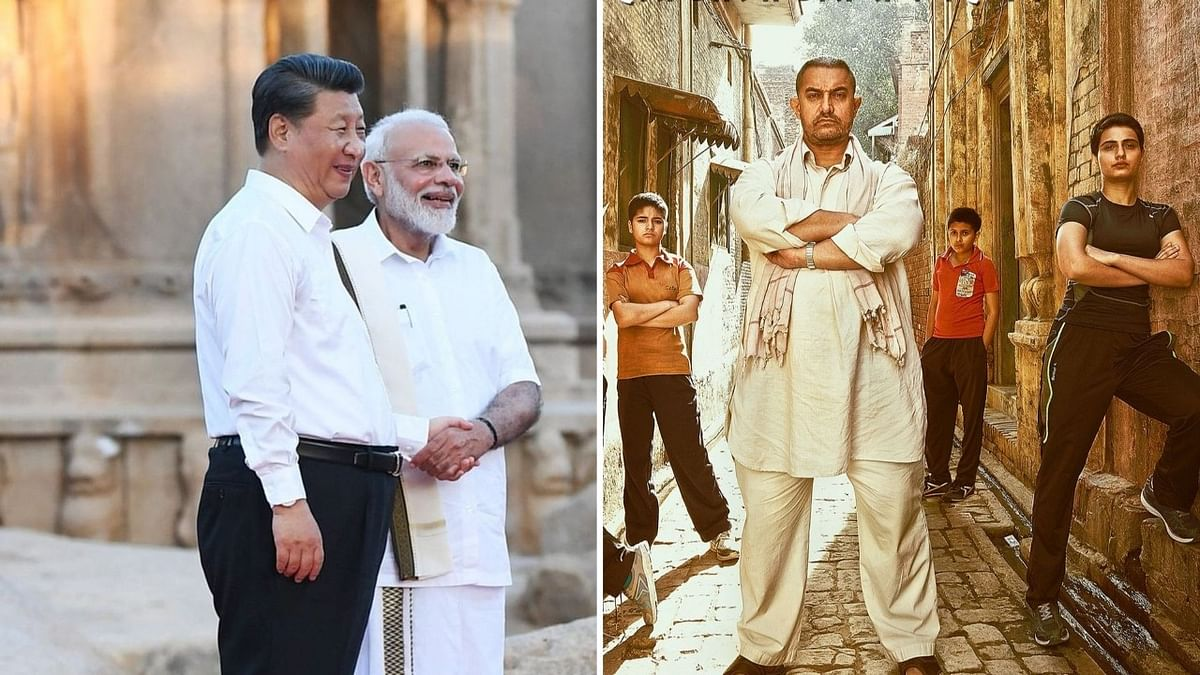 Narendra Modi &amp; Xi Jinping spoke about <i>Dangal </i>during their recent visit to Mamallapuram.
