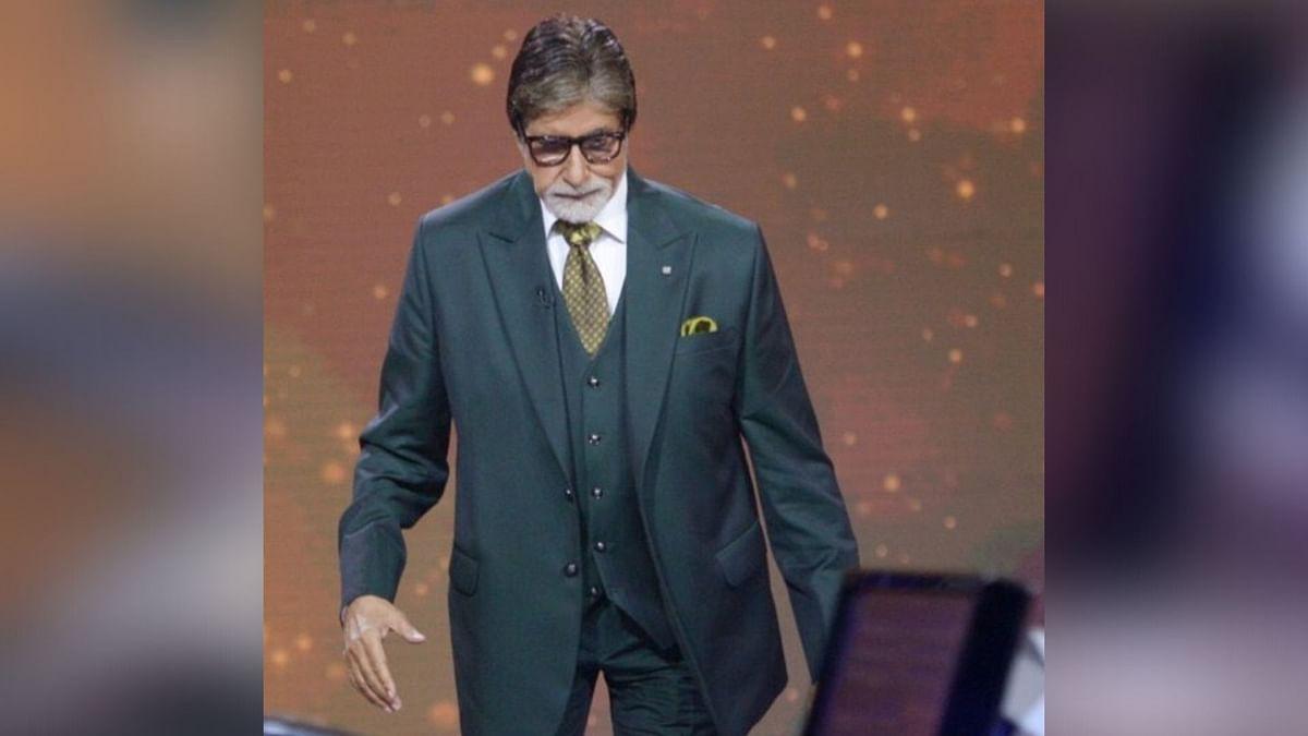 Amitabh Bachchan celebrates a quiet Diwali.