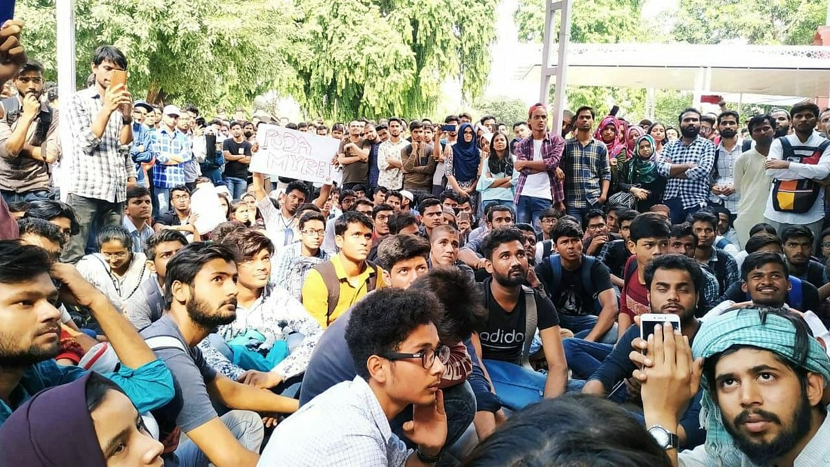 Jamia Protest: Students File Complaint Alleging Varsity Violence