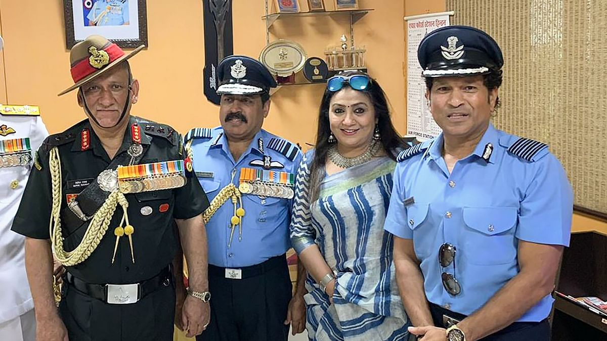 Had Goosebumps Seeing Abhinandan Leading Flying Parade: Sachin