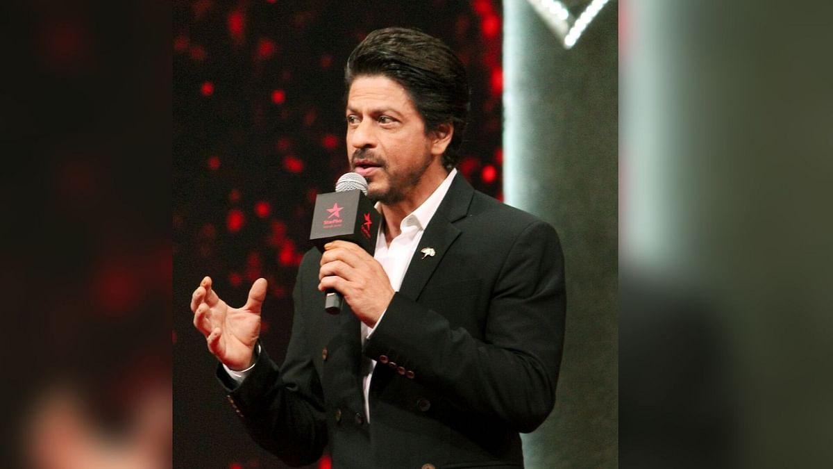 Shah Rukh Khan at TED Talks event.