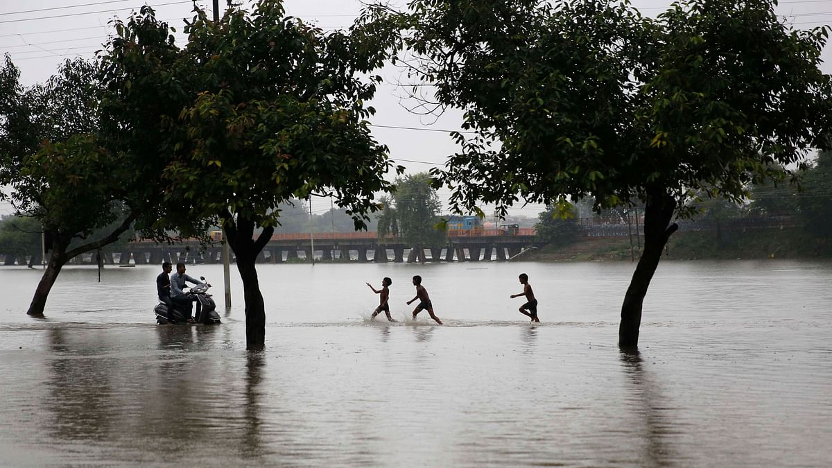 More than 4,000 people, including women and children, were rescued from the flood-affected areas of Patna.