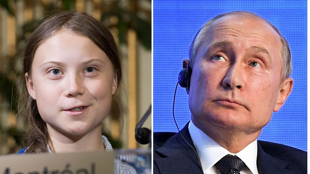Putin has said he does not share excitement about teenage climate activist Greta Thunberg's speech at the United Nations.