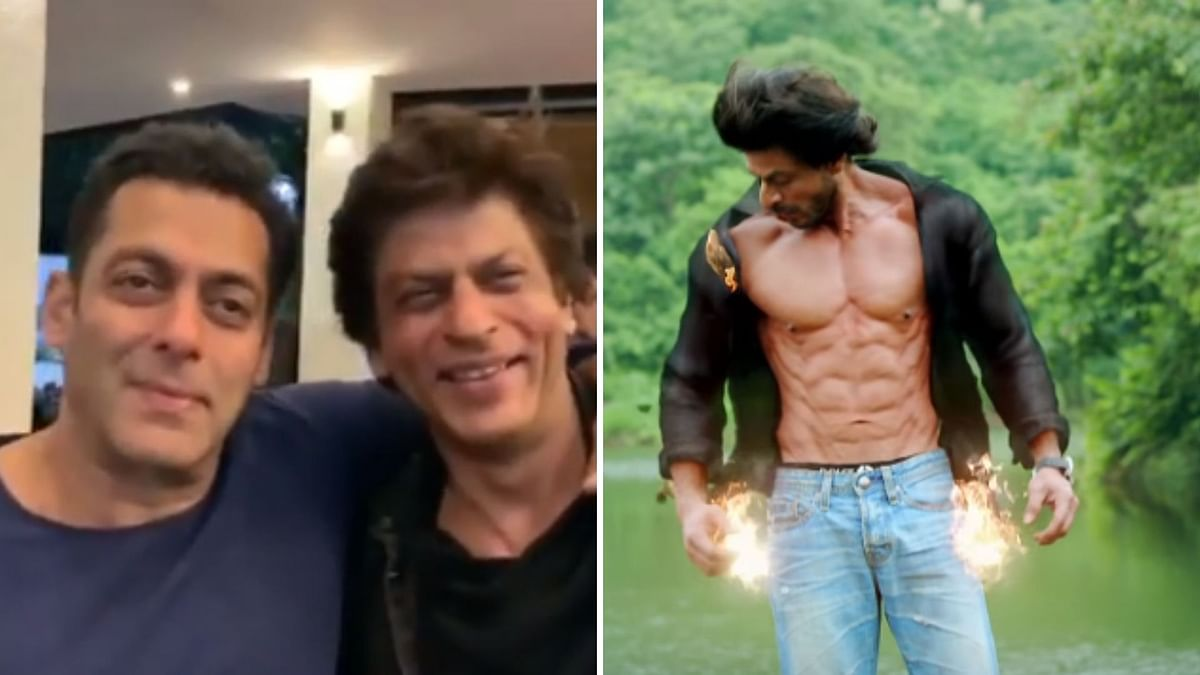 Salman Khan and Shah Rukh Khan.