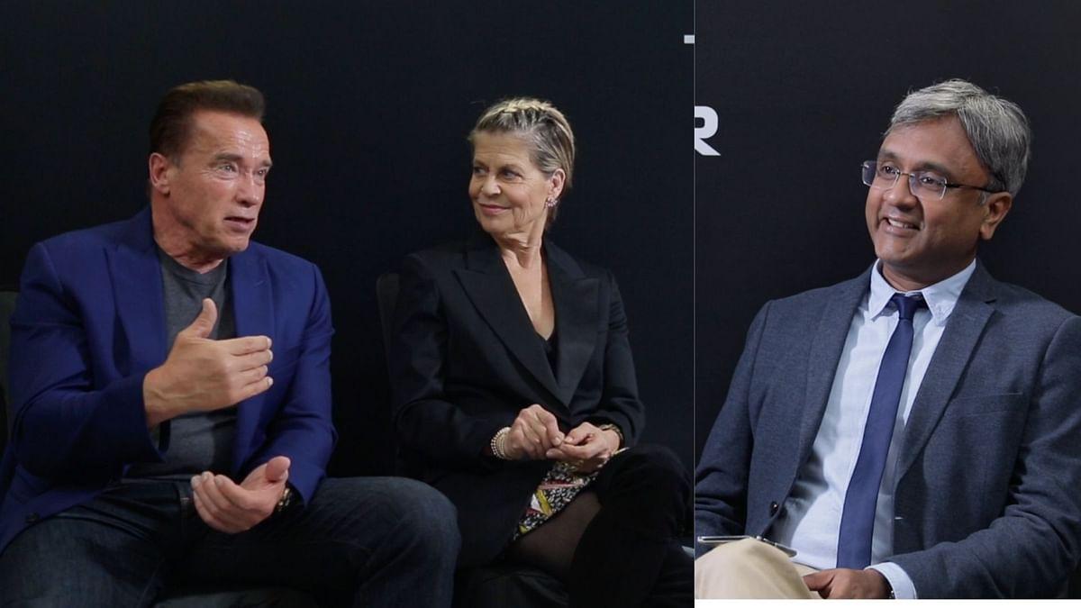 Schwarzenegger On Terminator, James Cameron and His Visit to India