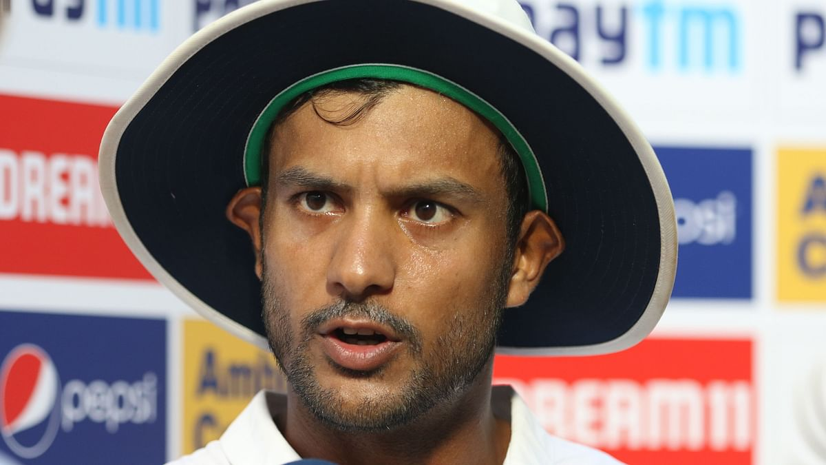 Mayank Agarwal speaks after scoring his maiden double century, against South Africa.