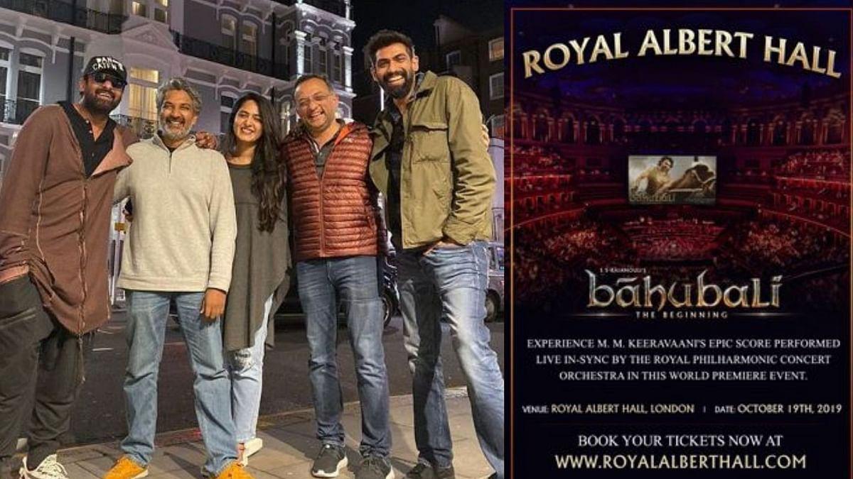 Baahubali makes history at Royal Albert Hall, London.