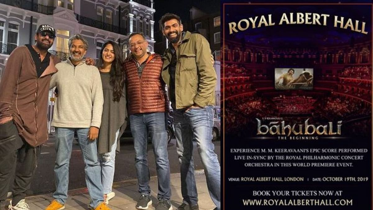 Rajamouli's Baahubali Gets Standing Ovation at Royal Albert Hall
