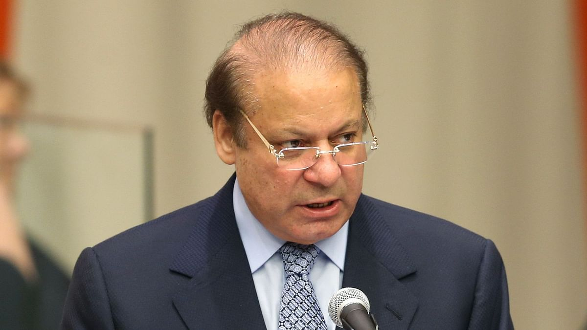 File image of former Pakistan Prime Minister Nawaz Sharif.