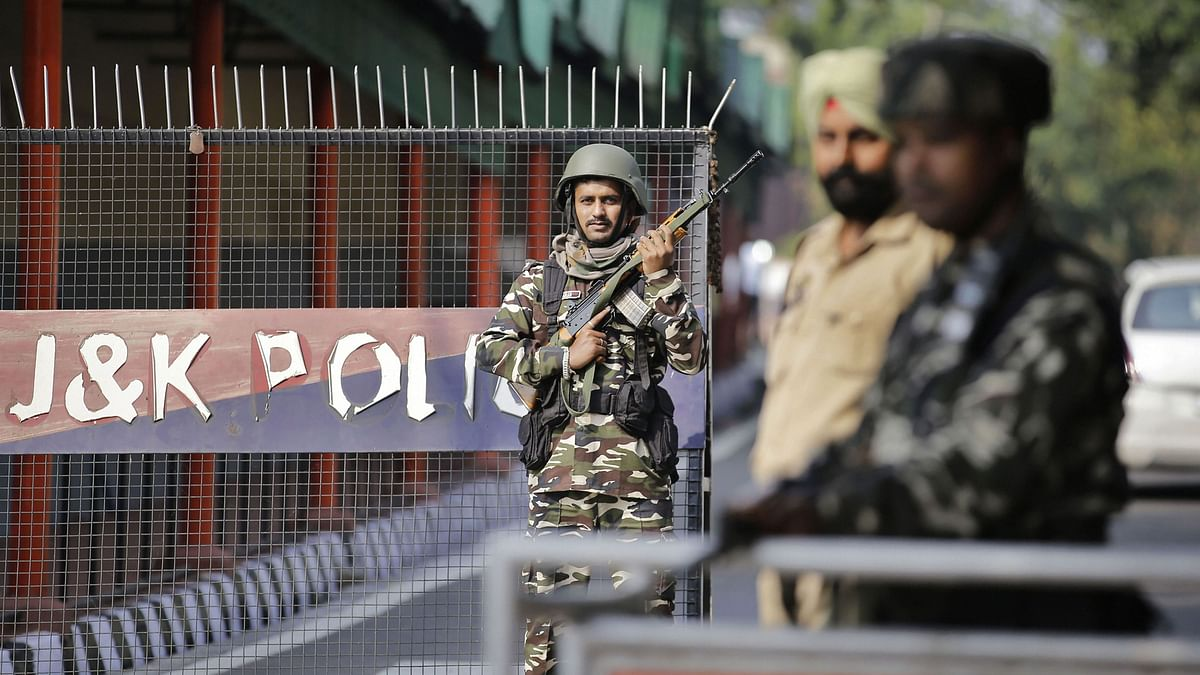 State Jammu and Kashmir  officially transitions into 2 union territories.
