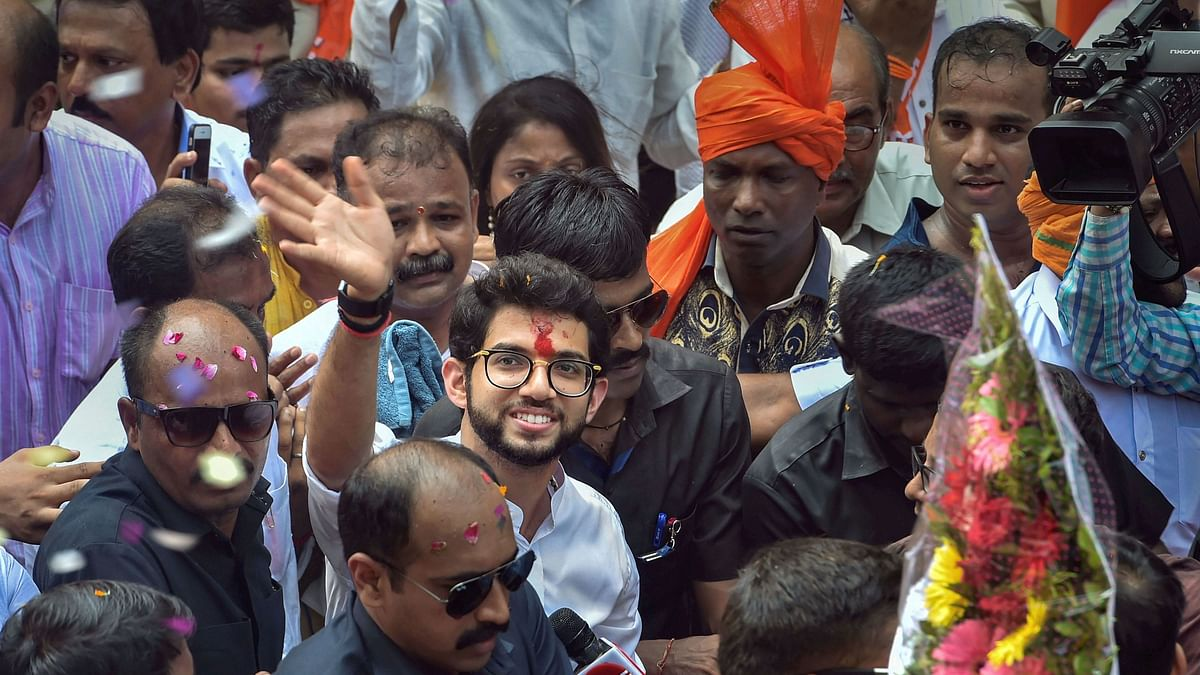 Aaditya Files Nomination, Becomes 1st Thackeray to Contest Polls