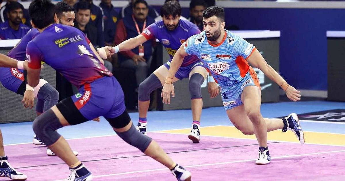 Bengal Warrior's stand-in captain Mohammad Nabibakhsh picked up his game, clinching valuable raid points.