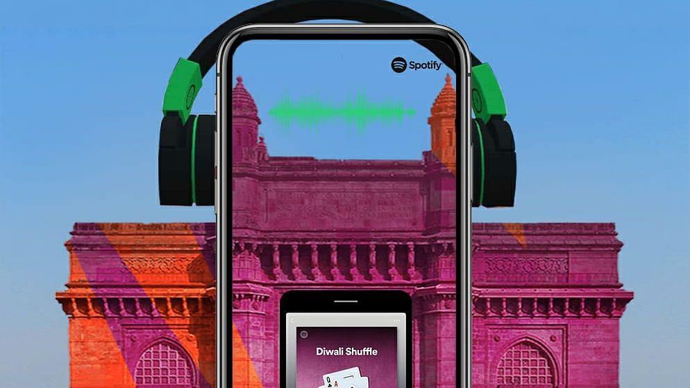Spotify Makes Diwali Groovier With Snapchat's Popular Landmarker