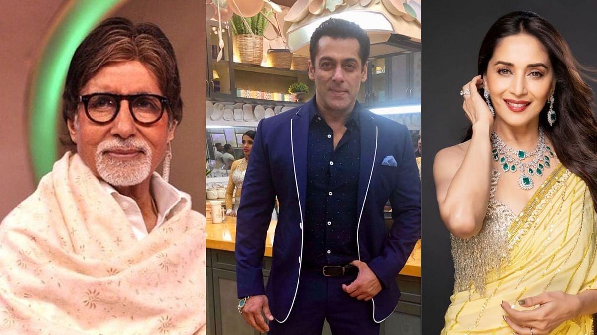 Amitabh Bachchan, Salman Khan and Madhuri Dixit send greetings on Gandhi Jayanti