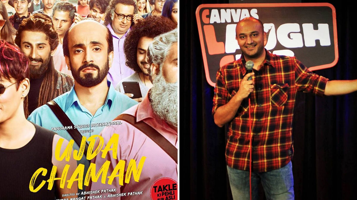 'Ujda Chaman' Accused of Copying  Jokes From Comedian