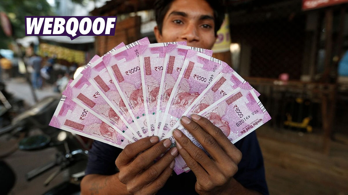 RBI Scrapping Rs 2,000 Notes & Releasing Rs 1,000? No, It's a Hoax