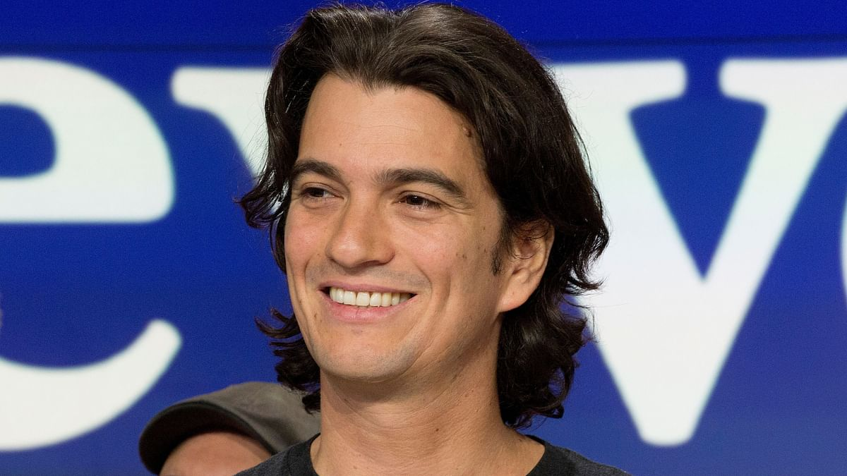 WeWork Co-Founder Pushed Aside in USD 5 Billion Softbank Takeover