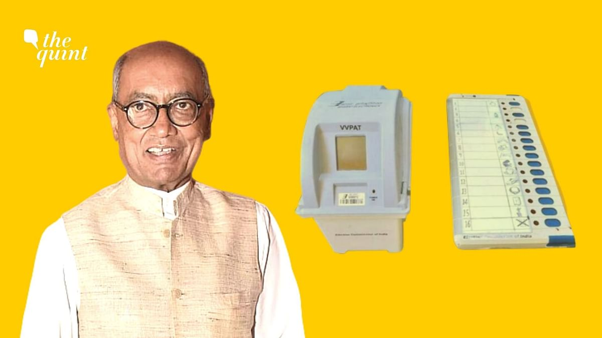 Amid Haryana & Maha Polling, Digvijaya Proposes VVPAT Alternative
