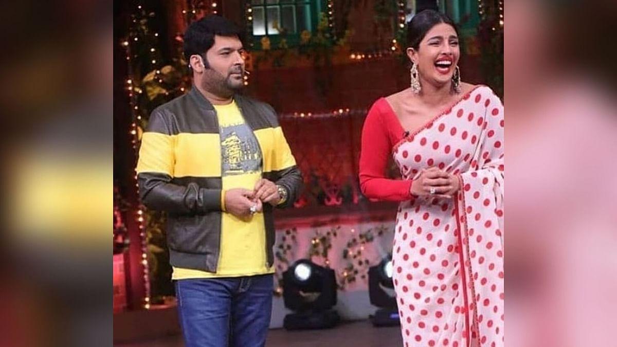 Kapil Sharma and Priyanka Chopra on <i>The Kapil Sharma Show</i>