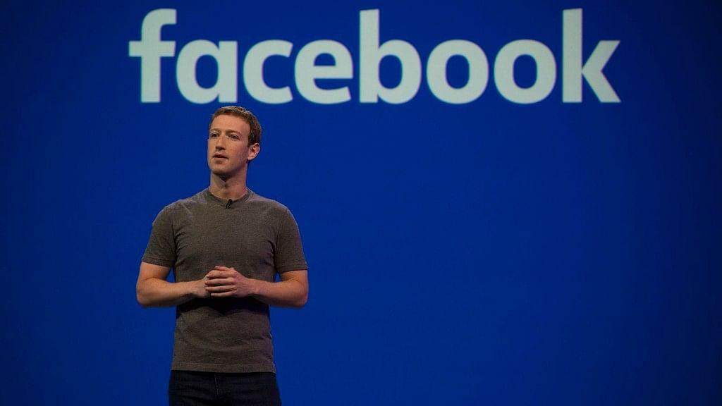 Facebook CEO and co-founder Mark Zuckerberg.