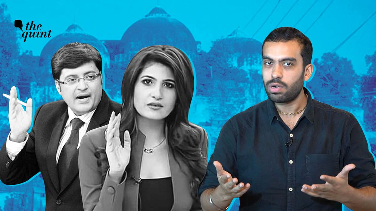 Ayodhya Case: How News Channels Became SC & Anchors Turned Judges