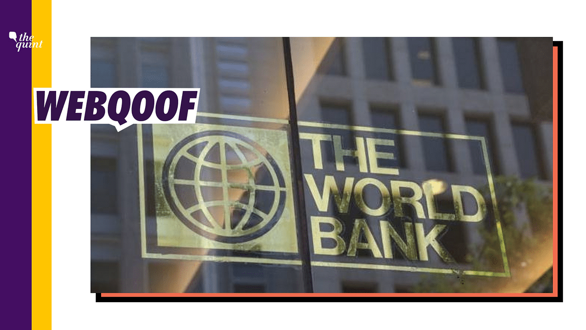 A viral post on Facebook falsely claimed that India owes an amount of over $1 lakh million to the World Bank.