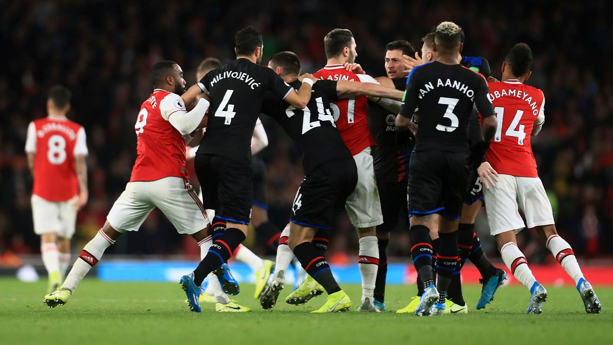 Things started to go wrong in the 32nd minute when Luka Milivojevic netted a penalty that was awarded after a VAR review.