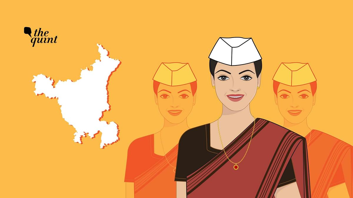 The state saw 104 women candidates contesting from 56 constituencies.