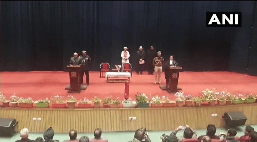 RK Mathur Becomes First L-G of UT Ladakh, Prez Rule Revoked in J&K