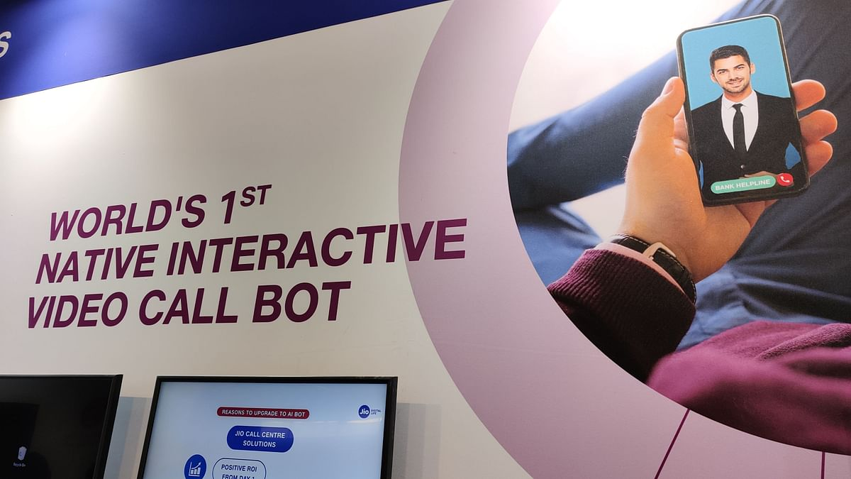 IMC 2019: Jio Showcases Customer Service With AI Video Bot