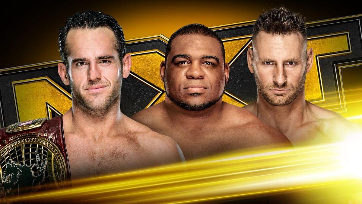 WWE NXT: Strong Retains North American Belt, Finn Balor Turns Heel